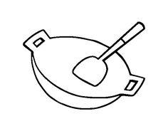 31 fantastiche immagini su Utensili cucina disegni | Clip art ...