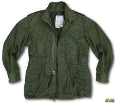 M-65 Field Jacket --An American classic & cherished piece of my wardrobe.