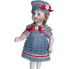 """Nautical Sailor Set for 6.5""""-8"""" Doll Bisque Miniature Mignonette…"""