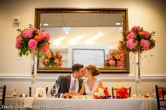 Lovely shot of a beautiful couple. #vintage #wedding #bride #groom ❘ The Yacht Club at Marina Shores @The Yacht Club at Marina Shores