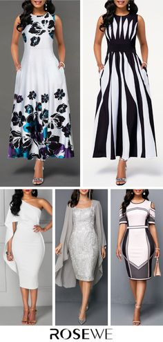 Dresses For Women New Look Fashion, Fashion Looks, Elegant Dresses, Cute Dresses, Dresses For Sale, Dresses Online, Xl Mode, Stylish Clothes For Women, Sweet Dress