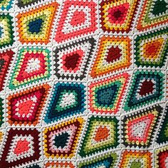 1000+ images about Crochet & Knitting: Blankets, knee rugs, curtains ...