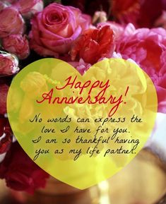 Happy, Funny and Wedding Anniversary Quotes for him and her, for parents, couples, husband and wife. All years Anniversary Quotes and Images from the heart. Anniversary Wishes Message, Anniversary Quotes For Husband, Anniversary Quotes For Him, Happy Wedding Anniversary Wishes, Love Husband Quotes, Cute Love Quotes, Anniversary Pictures, Birthday Wishes, Happy Aniversary