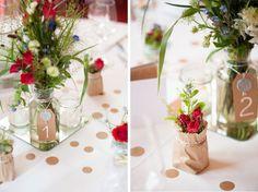 Tiina & Max - DIY-Hochzeit mit Kraftpapier im alten Land   Verrückt nach Hochzeit