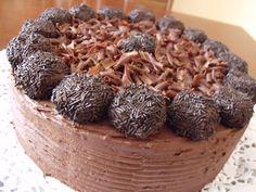 Citromhab: Trüffel torta Hungarian Desserts, Cereal, Dishes, Breakfast, Cake, Sweet, Heavenly, Foods, Pies