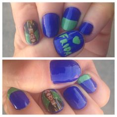 #Frida #Kahlo #nailart just a bit late for her birthday! Thanks to @chachacovers !! #latism #latinas