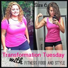 Fitness, Food and Style: Weight loss story on Transformation Tuesday with Miriam