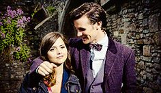 Oops! | 29 Undeniable Reasons The Doctor And Clara Are In Love His face <3