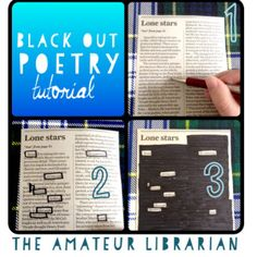 Black Out Poetry Tutorial