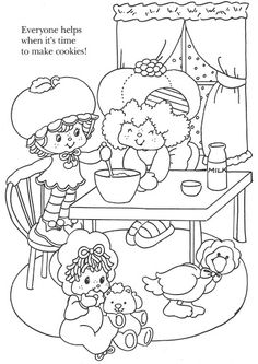 USED COLORING BOOK~Strawberry Shortcake Christmas Fun - Bonnie Jones - Picasa Web Albums