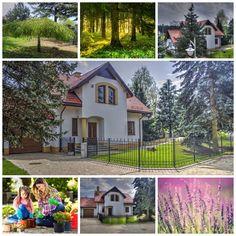 Piękne domy, Osiedle Osada Świerkówka k/Warszawy - na sprzedaż Cabin, House Styles, Outdoor Decor, Plants, Home Decor, Decoration Home, Room Decor, Cabins, Cottage