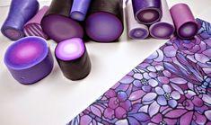 Beadazzle Me Polymer Jewelry: Polymer Clay Cuff Bracelet Tutorial