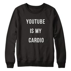 """LaurDIY Limited Edition Sweatshirt """"I hate the gym. YouTube is my cardio. This is only available for 2 weeks so get one before it's gone!""""  – xoxo LaurDIY   ***WORLDWIDE SHIPPING***"""