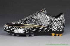 Futsal Shoes Nike Mercurial Superfly IV AG BHM Black Grey Mens-Womens