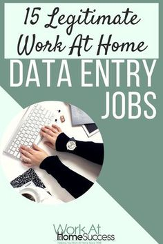 Want to work-at-home doing data entry? Learn the real-deal about home-based data entry work plus get a list of places that hire work at home data entry workers.