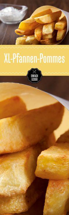 Homemade Pommes. XXL in Größe und Geschmack.