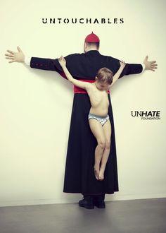 """""""Los intocables"""", la dura campaña de Benetton para proteger a la infancia"""