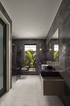 Feel this luxury hotel-style bathroom design perfect for your new home from Metricon. Luxury Hotel Bathroom, Hotel Bathroom Design, Modern Bathroom Decor, Bathroom Design Small, Contemporary Bathrooms, Bathroom Styling, Bathroom Designs, Bathroom Ideas, Build Your Own House