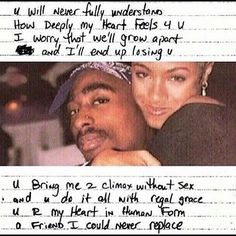 Tupac poem to Jada. 2pac Poems, Tupac Quotes, Rapper Quotes, Tupac And Jada, Tupac Lyrics, Best Quotes, Love Quotes, Tupac Pictures, Bae