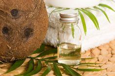 Óleo de coco extra virgem para a pele e cabelo