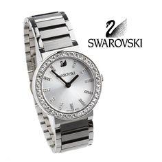 ¡Reloj Citra! Reloj elaborado en acero quirurjico y maquinaria suiza. Tiene un tablero banco con cristal zafiro.