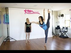 Progressions across the floor (Dance Instruction) - YouTube