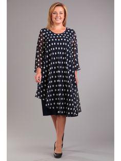 В интернет-магазине belpodium Вы можете купить Платье, размер: 50 - 66, артикул: 741 от Ива с доставкой по России и Москве