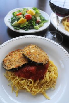 Vegan (or not) Eggplant Parmesan (V) | Busy Girl Healthy World