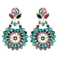 Boucle d'oreille n°108 DARYA www.reminiscenceparis.com  #bijoux #Reminiscence #Reminiscenceparis