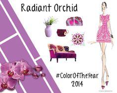 #PinningforPrizes #PantoneSpring2014 Radiant Orchid #ColorOfTheYear
