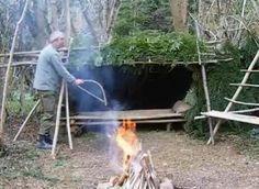 "making a ""long term"" wilderness survival shelter"
