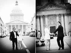 Real Weddings: Lindsey & Bobby's Mod Paris Elopement