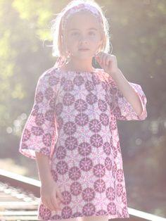 Audrey dress   1 hour dress  pdf pattern  12 mos to 10 yrs