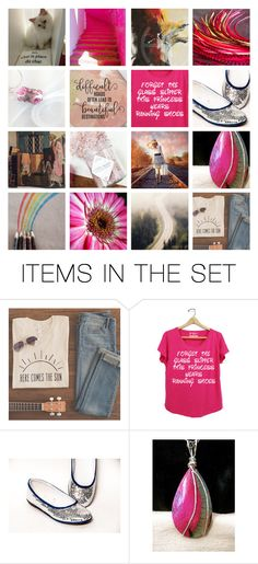 """""""Forget the Glass Slipper   treasury style"""" by annacullart ❤ liked on Polyvore featuring art, contestentry and Treasury"""