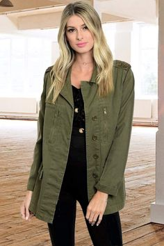 People Outfitter Army Trend Jacket