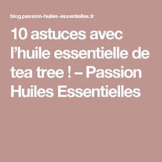 10 astuces avec l'huile essentielle de tea tree ! – Passion Huiles Essentielles