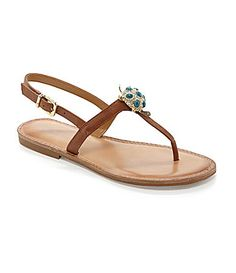 Saw these today in the store and I want them! Antonio Melani Teri Flat Sandals #Dillards