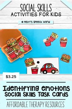 $3.25 · If you're looking for speech therapy activities to work on social skills for kids, this may be just what you are looking for! Find this and MANY more therapy resources for kids at Misty's Speech World! Buy now: to purchase this activity, click on this pin, purchase and add this therapy resource to your speech therapy toolkit!