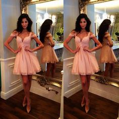 Now available on our store: Pink Mini Lengh C...  Check it out here! http://mydaynightshopping.myshopify.com/products/pink-mini-lengh-chiffon-cocktail-dress-for-party-elegant-vestidos-de-festa-curtos-noite?utm_campaign=social_autopilot&utm_source=pin&utm_medium=pin