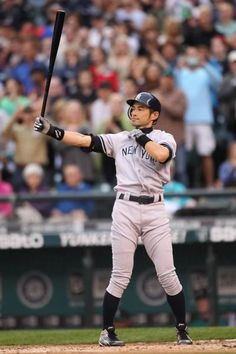 Ichiro Suzuki. He is the greatest baseball hero of Japan.