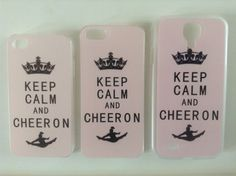 Cheerleader Phone Cases iPhone 4/4S, 5/5S/5C & Samsung Galaxy S4 (5C not shown in pic)