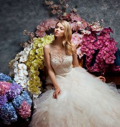 Luxe Wedding Gowns from Enaura Bridal #weddinggowns #bride #weddingdresses  https://ruffledblog.com/luxurious-gowns-enaura-bridal/