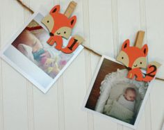 Fox First Birthday Decorations, Fox Party Monthly Photo Banner, Woodland First Birthday Party, Fox Monthly Pins, Pictures Boy First Birthday, Boy Birthday Parties, Birthday Ideas, Fairy Birthday, Birthday Cake, Birthday Picture Displays, Fox Party, First Birthday Decorations, One Month Baby
