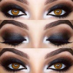 Oggi parliamo di occhi marroni e smokey Eyes il trucco da sera più famoso  per antonomasia, elegante e di forte impatto grafico!! ✨✨ quante di voi si cimenteranno nell'ardua impresa?? #makeup #eyes #beauty #eyeshadow #eyeshadows #love #beautiful #photooftheday #instagood #fashion #style #pretty #tagsforlikes #me #girls #girl #model #cute #stylish #styles #mua #makeupaddict #heels #purse #tbt #followme #follow4follow