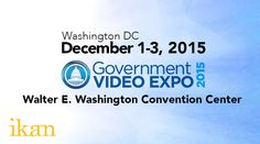 Ikan will be attending the Government Video Expo 2015 on December 1-3, 2015. Government Video Expo is the East Coast's largest technology event designed for video, broadcast and AV professionals. Government Video Expo encourages attendees to get hands-on with the latest video gear in an exhibit hall featuring more than 175 suppliers, dealers, and distributors. If you shoot, edit, post, store, or distribute video, or use AV solutions, save the date for Government Video Expo.