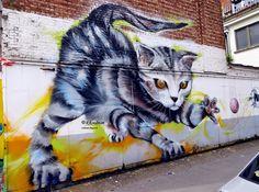 Wall paints, Muurschilderingen, Peintures Murales,Trompe-l'oeil, Graffiti, Murals, Street art.: Antwerpen - Belgium Smok, Wilson en Sken