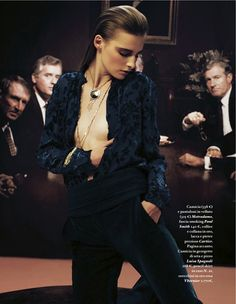 Marine Van Outryve | Gianluca Fontana | IO Donna September 2012 | IO Ballo Da Sola - 3 Sensual Fashion Editorials | Art Exhibits - Anne of Carversville Women's News
