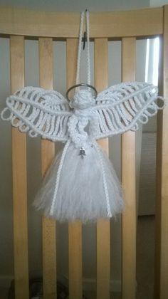 Medium angel made from www.free-macrame-patterns.com