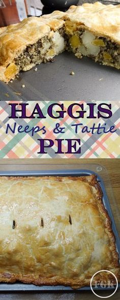 Feed a crowd with this Haggis, Neeps and Tattie Pie a variation on the traditional Burns Nigh favourite World Cuisine Lamb Recipes, Fish Recipes, Meat Recipes, Cooking Recipes, Haggis Neeps And Tatties, Vegetarian Haggis, Scotland Food, Burns Supper, My Favorite Food