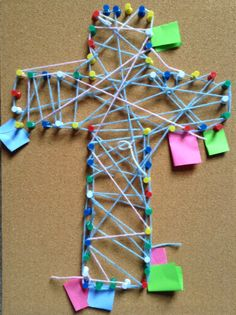 String Cross Prayers from Flame Creative Kids